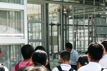 植物工場説明会の様子