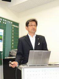 小澤和樹氏(愛媛県教育委員会)の写真です