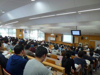 学生対象の講習会の様子の写真です